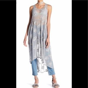 Melrose and Market Mesh Embroidered Tunic